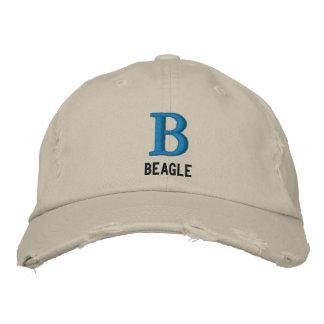 Beagle Monogram Baseball Cap