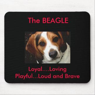 Beagle Mouse Mat