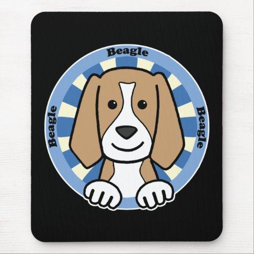 Beagle Mouse Pads