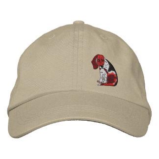 Beagle My Friend Bill Embroidered Hat