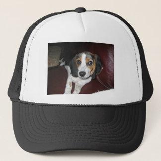 Beagle on a Sunday Trucker Hat