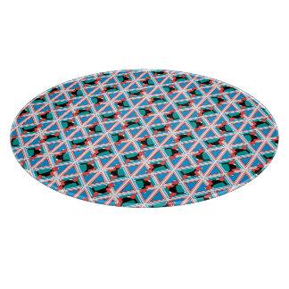 Beagle Pattern Quattrodog Cutting Boards