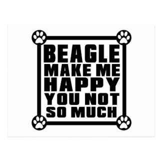 BEAGLE.png Postcard