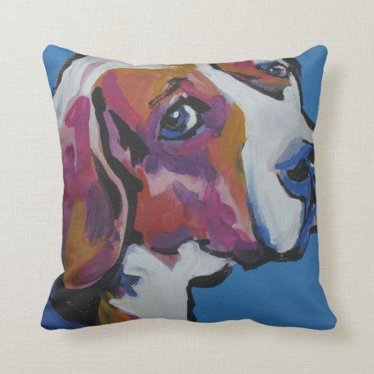 Beagle Pop Art Pillow- So Cool! Cushion