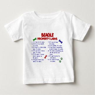 BEAGLE Property Laws 2 Baby T-Shirt