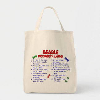 BEAGLE Property Laws 2 Tote Bag