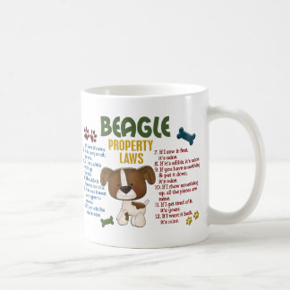 Beagle Property Laws 4 Coffee Mug