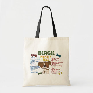 Beagle Property Laws 4 Tote Bag