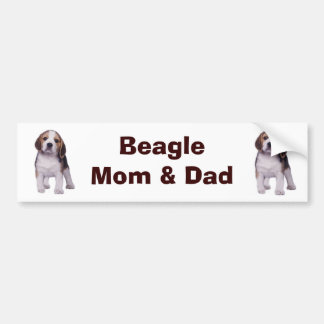 Beagle Pup Bumper Sticker