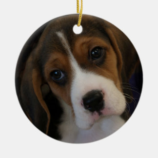 Beagle pup Christmas Ornament