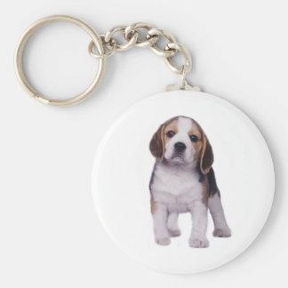 Beagle Pup Keychain
