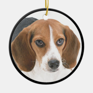 Beagle Puppy Christmas Ornament