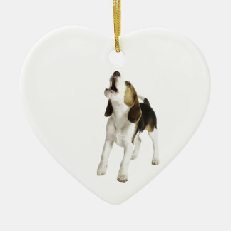 Beagle Puppy Dog Christmas Ornament