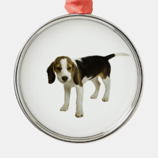 Beagle Puppy Dog Christmas Ornament