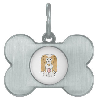Beagle Puppy Dog. Pet Tag