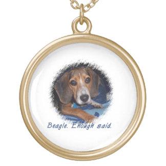 Beagle Puppy With Attitude - Custom Background Pendants
