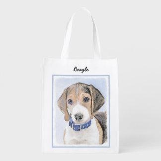 Beagle Reusable Grocery Bag