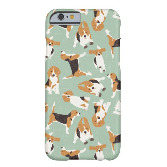 beagle scatter mint barely there iPhone 6 case