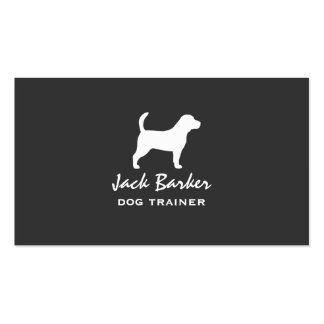 Beagle Silhouette Pack Of Standard Business Cards