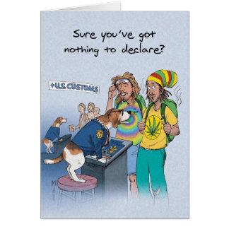 Beagle Sniffer - Funny Birthday Card