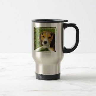 Beagle Stainless Travel Mug