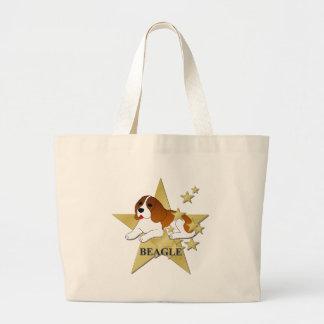 Beagle Stars Tote Bags