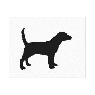Beagle Stretched Canvas Prints