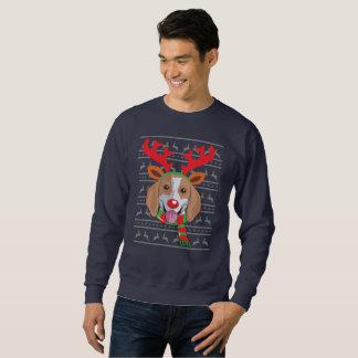 Beagle T-Shirt Funny Reindeer Christmas Gift Shirt