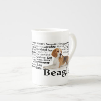 Beagle Traits Bone China Mug