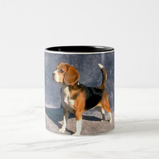 beagle Two-Tone coffee mug