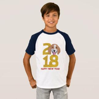 Beagle Year of the Dog 2018 New Year Shirt