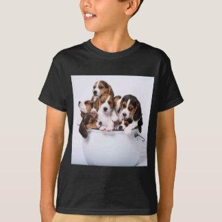 Beagles in Bucket T-Shirt