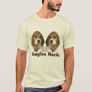 Beagles Rock Adult T-Shirt