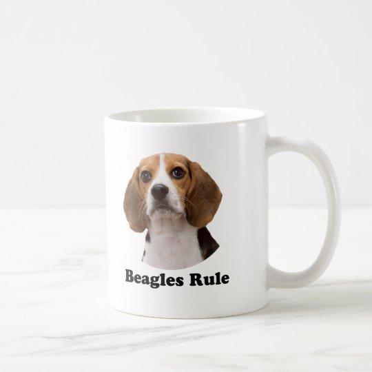 Beagles Rule Coffee Mug