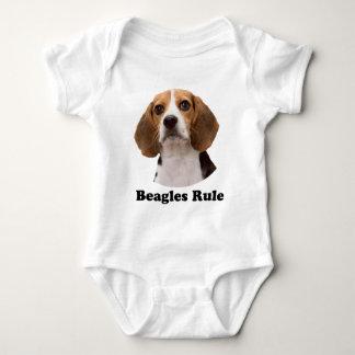 Beagles Rule Tee Shirts