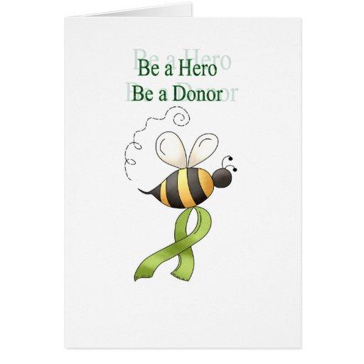 beahero greeting card