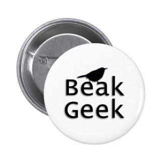 Beak Geek-- Wren 6 Cm Round Badge
