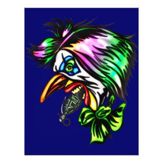 Beak Nose Evil Clown 21.5 Cm X 28 Cm Flyer