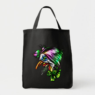 Beak Nose Evil Clown Canvas Bag