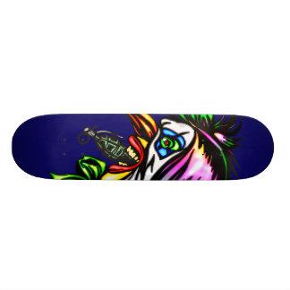 Beak Nose Evil Clown Skateboard