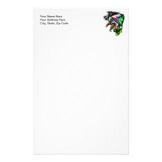 Beak Nose Evil Clown Stationery Paper