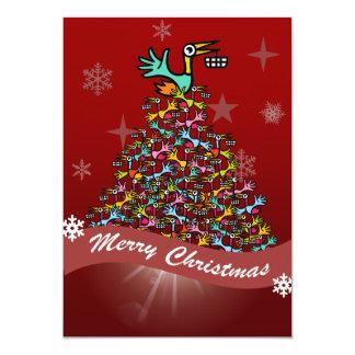 "Beakanlegs Christmas Card 5"" X 7"" Invitation Card"