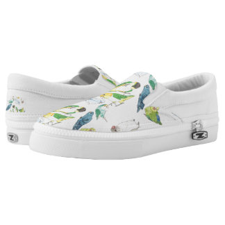 Beaky Birds Flock Slip-On Shoes