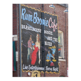 Beale 'n Blues Postcard