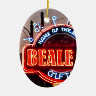 Beale Street Christmas Ornament