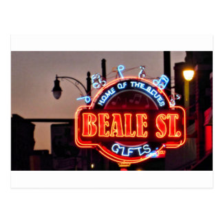 Beale Street Postcard