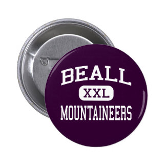 Beall - Mountaineers - High - Frostburg Maryland Pin