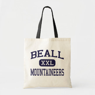 Beall - Mountaineers - High - Frostburg Maryland Budget Tote Bag
