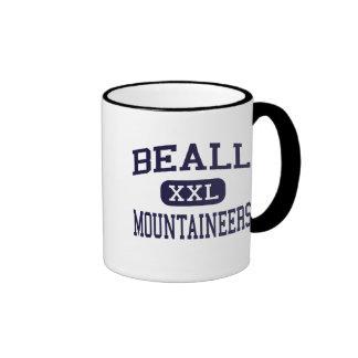 Beall - Mountaineers - High - Frostburg Maryland Ringer Mug