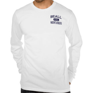 Beall - Mountaineers - High - Frostburg Maryland Tshirts